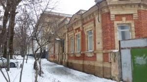 Отреставрированный дом на Барятинской