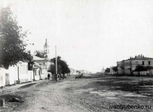 Ставрополь. Нынешняя ул. Голенева