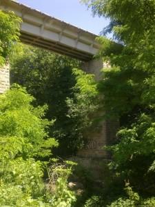 Мост через р.Ташлу Туапсинской железной дороги