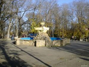 Старый центральный фонтан