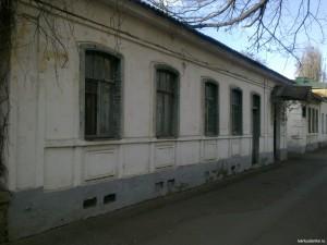 Старый дом на Воронцовской улице.