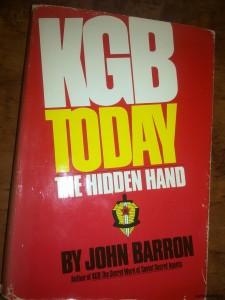 """""""КГБ-спрятанная рука"""", Джон Бэррон."""
