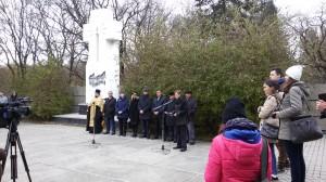 Митинг скорби в Ставрополе