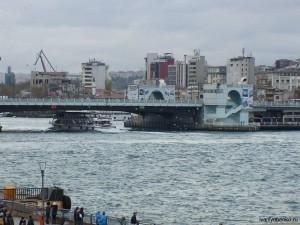Стамбул. Галатский мост.
